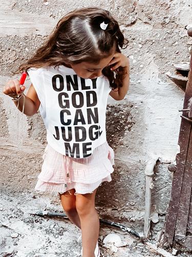 גופיית GOD לבנה