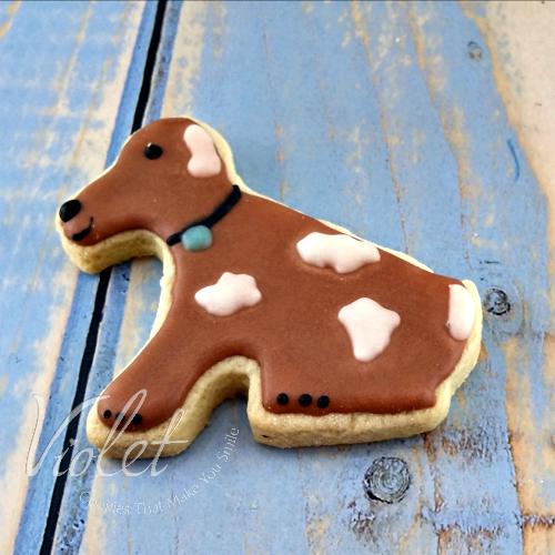 עוגית כלב חום