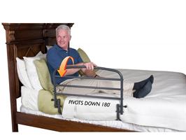 מעקה מיטה מתקפל