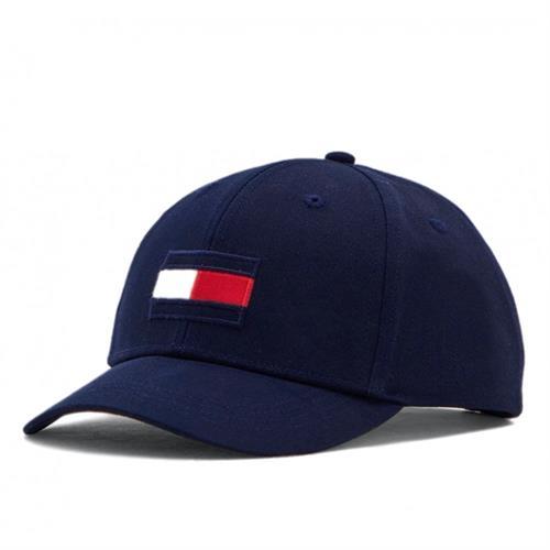 כובע כחול TOMMY HILFIGER לוגו גדול