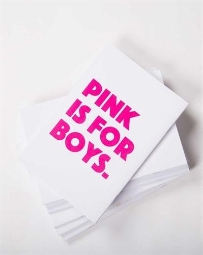 מחברת Pink is for boys