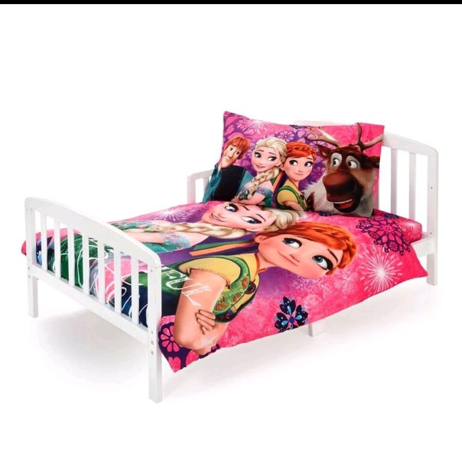 סט מלא למיטת מעבר של אלזה ואנה