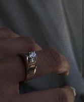 טבעת ללה כסף
