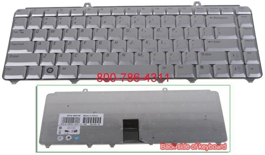 החלפת מקלדת למחשב נייד דל Dell Inspiron 1420 NK750 Laptop Keyboard