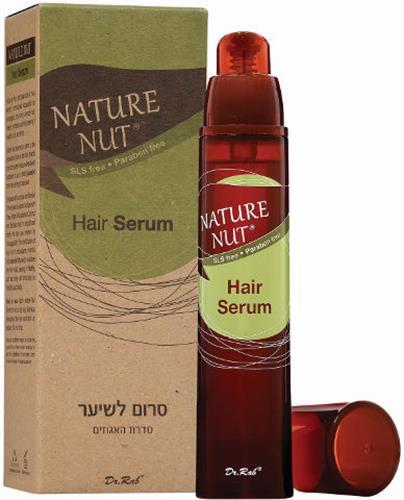 Nature Nut סרום לשיער סדרת האגוזים