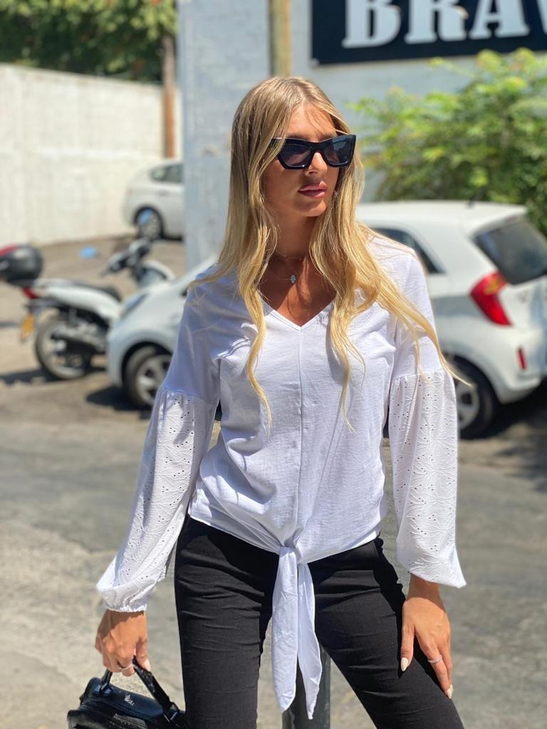 חולצת פריז לבנה THOMAS
