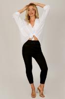 חולצת אוברסייז אמילי לבן /כאמל