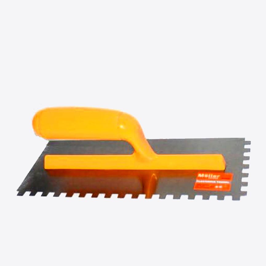 """מלאג' ידית פלסטיק שיניים 280X120 מ""""מ"""