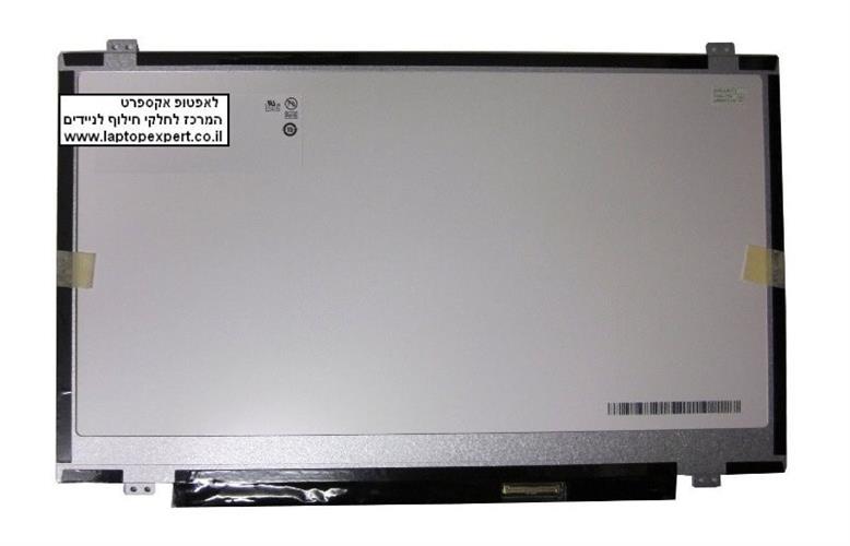 החלפת מסך למחשב נייד LG Philips LP140WD2 (TL)(D2) LP140WD2-TLD2 14 WXGA++ 1600x900 Matte laptop LCD