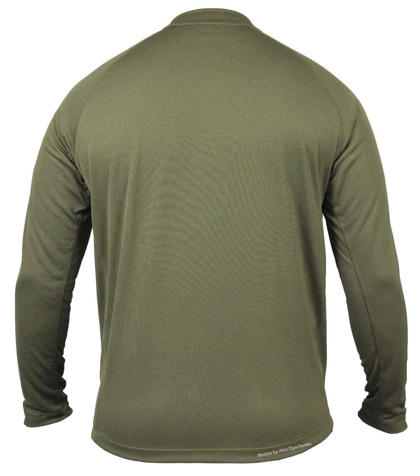 חולצת אימון קיצית טקטית ללוחם  1/4 ZIP  מדי  אימון ולחימה צבע ירוק זית דגם 76 Keela