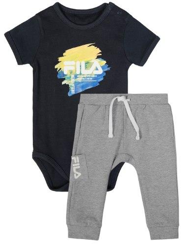 חליפת תינוק בגד גוף מכנס ארוך FILA