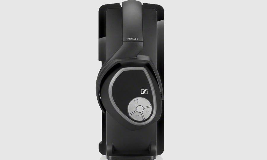 אוזניות אלחוטיות Sennheiser RS165, מערכת אלחוטית דיגיטלית מעולה לצפייה בסרטים והאזנה למוסיקה.
