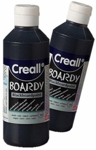 """צבע לוח שחור  250 מ""""ל CREALL"""