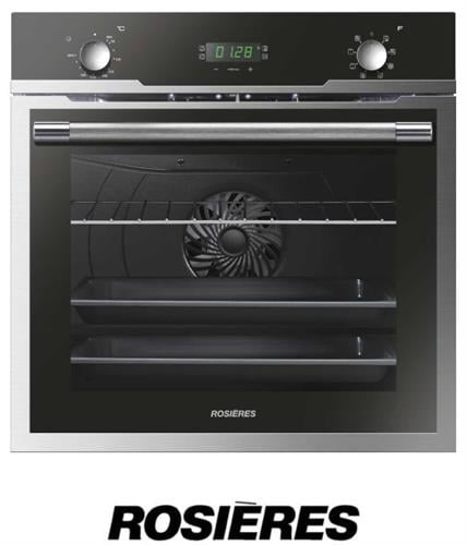 ROSIERES תנור בנוי גדול 70 ליטר דגם RFZ3170IN