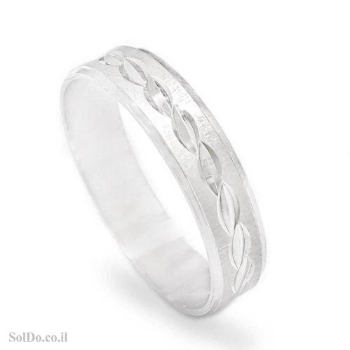 טבעת נישואין מכסף RG6232