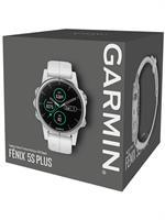 שעון דופק Garmin fenix 5S Plus Sapphire White with White Band