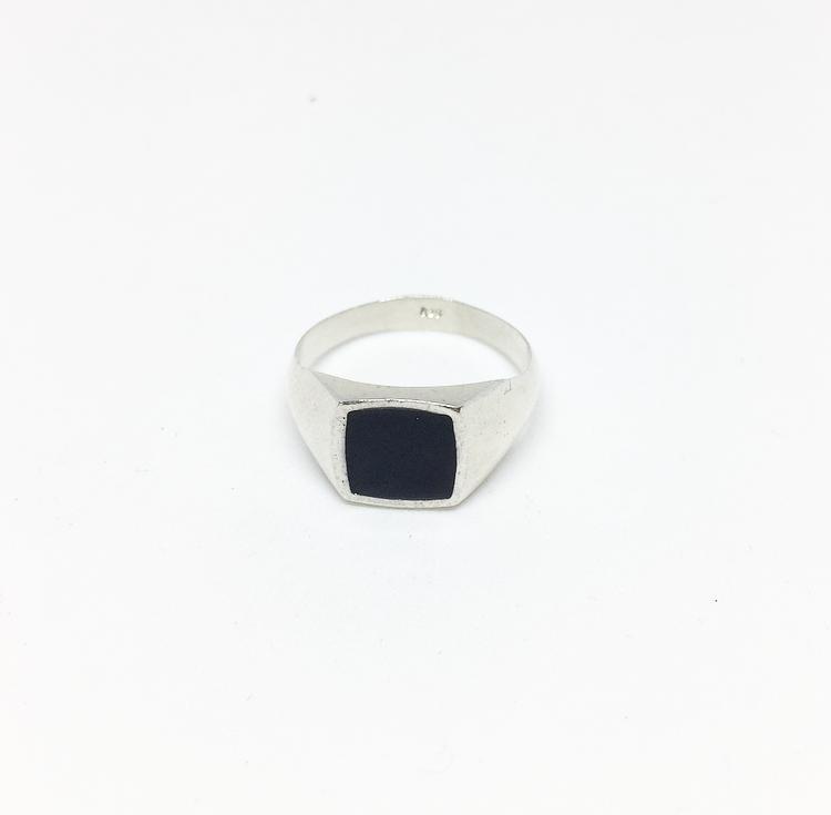 טבעת עומר כסף