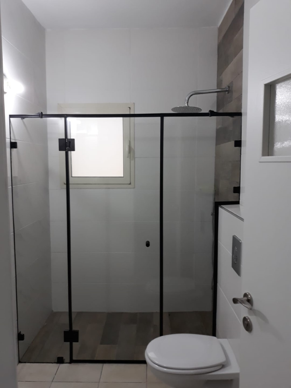 מקלחון חזית שני קבועים + דלת