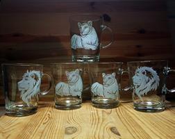 5 ספלים| להקת אריות