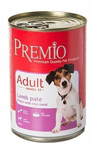 שימורי פרמיו לכלב בוגר כבש 400 גרם
