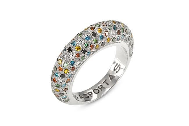 MICHAL BEN AMI X SASPORTAS DIAMONDS RING