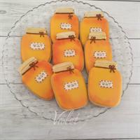 עוגיות צנצנת דבש לראש השנה
