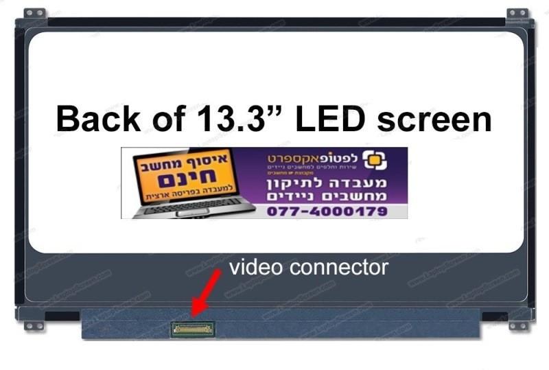 החלפת מסך למחשב נייד אסוס Asus UX305 13.3-Inch Full-HD IPS Anti-Glare Matte Display