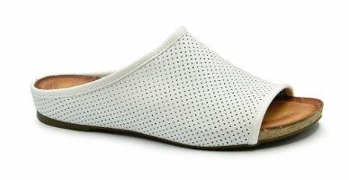 כפכף נוחות שטוח לנשים כחול-לבן דגם - LC370