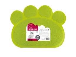 שטיחון לשירותי חתול כף רגל ירוקה - אם פטס
