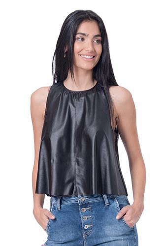 חולצה עופרי שחורה