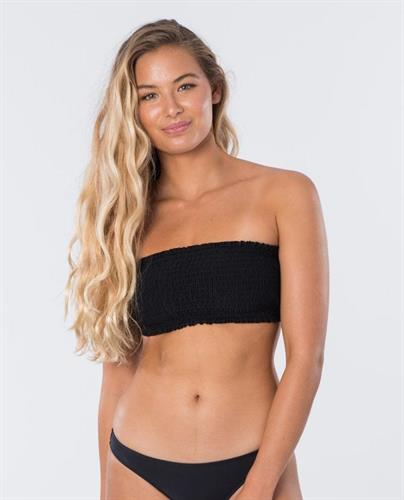 RIP CURL SURF ESS. SHIRRED BANDEAU