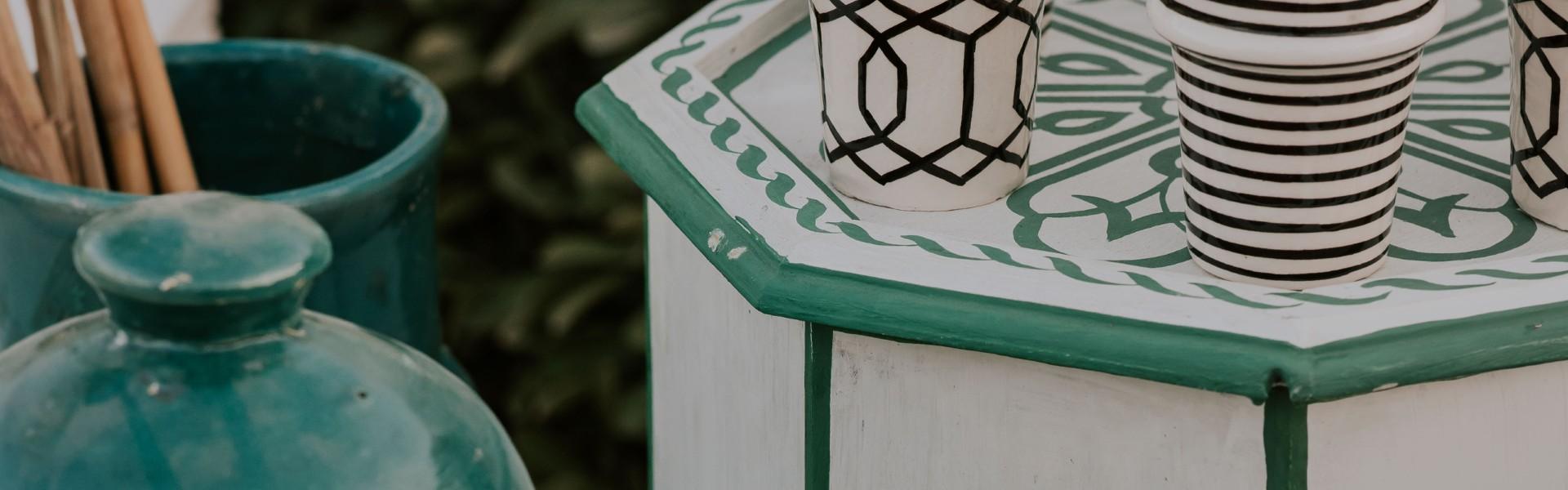 רהיטים מצוירים - פנטזיה מרוקאית
