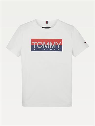 טישירט TOMMY H לבנה
