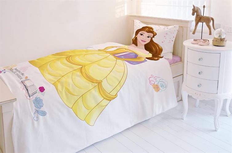 סט מלא מיטה וחצי הנסיכה בל