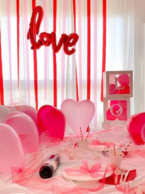 עיצוב מסיבת אהבה