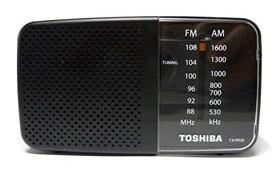 רדיו טרנזיסטור TOSHIBA TX-PR20  AM/FM