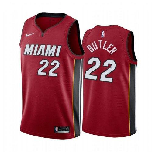 גופיית NBA מיאמי היט אדומה 20/21 - #22 Jimmy Butler