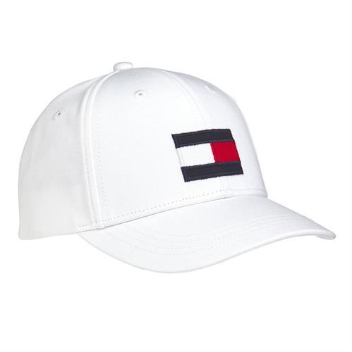 כובע לבן TOMMY HILFIGER לוגו גדול