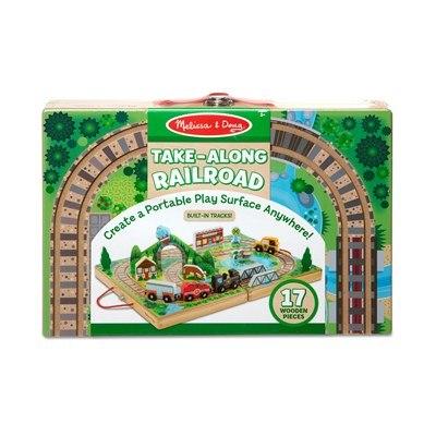 משחק בקופסאת עץ - תחבורה ורכבת מבית מליסה ודאג