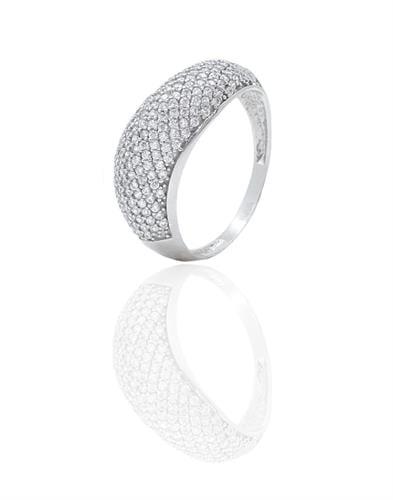 טבעת זהב יהלומים 0.65 קראט זהב קאראט