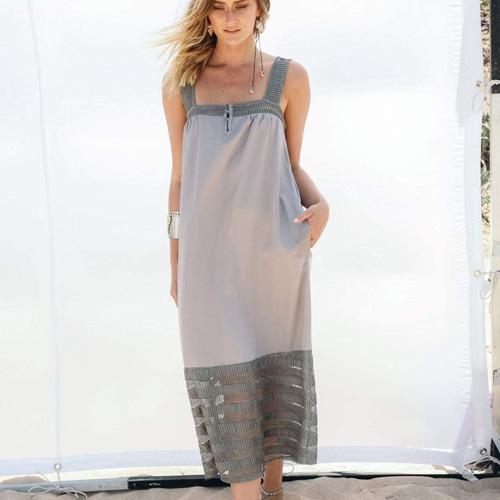 שמלת בילי אפור