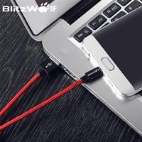 כבל מיקרו USB לסנכרון וטעינה חזק ביותר 2.4A מבית BlitzWolf (מיוצר בגרמניה)