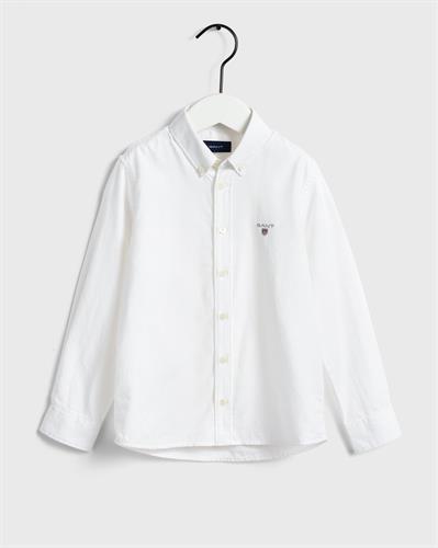 חולצת גאנט מכופתרת לבנה