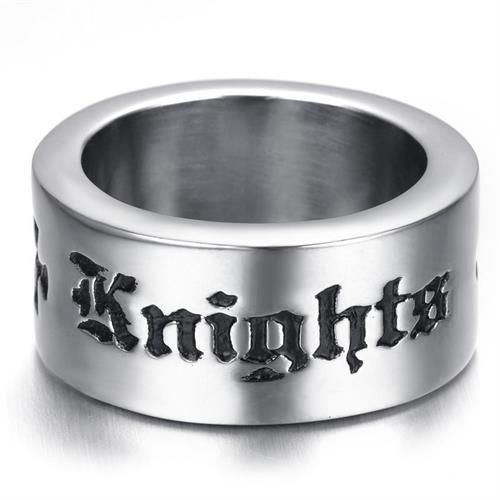 טבעת פלדה (Stainless steel) גברים מסדר האבירים הטמפלרים OP111600054-IN