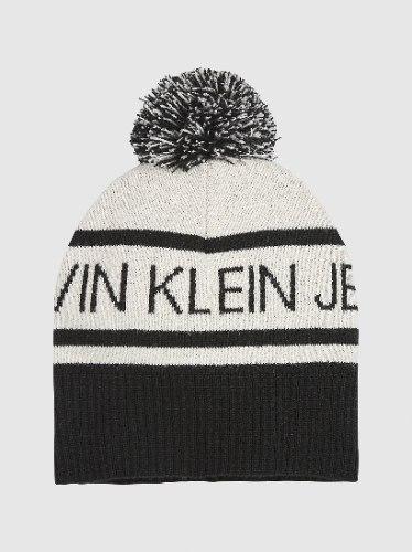 כובע גרב CK יוניסקס שילוב שחור