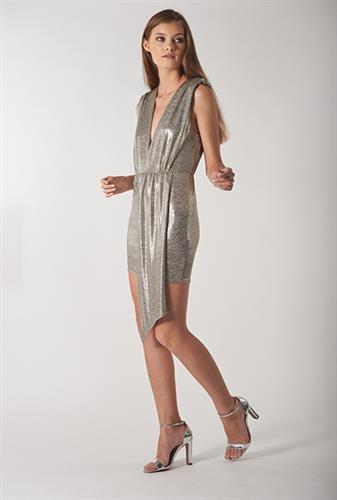 שמלת אניה כסף