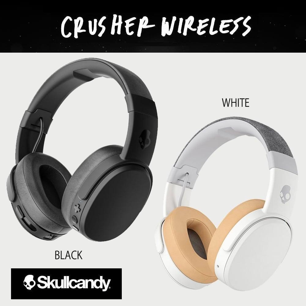 אוזניות אלחוטיות עם הגברת בס Skullcandy Crusher