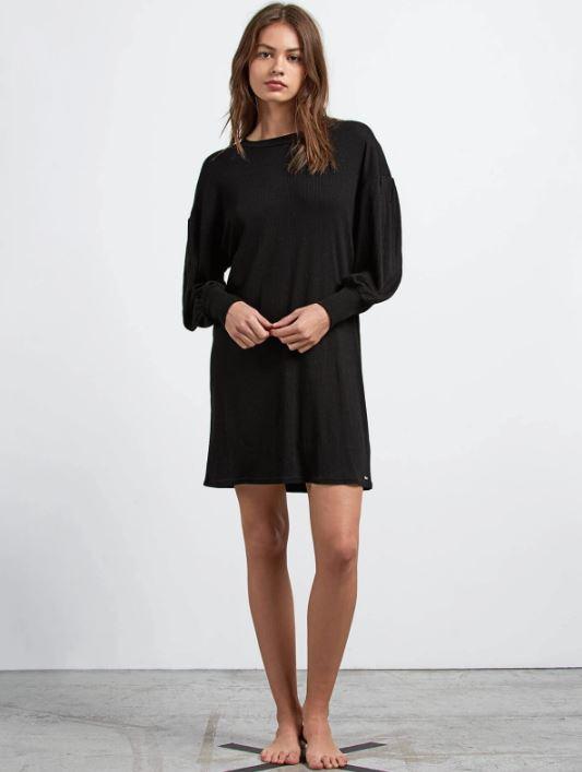 VOLCOM LIL L/S DRESS