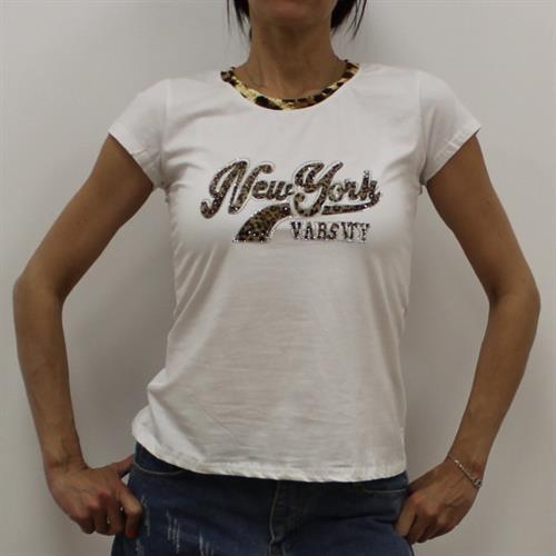 חולצת נשים הדפס מנומר N.Y