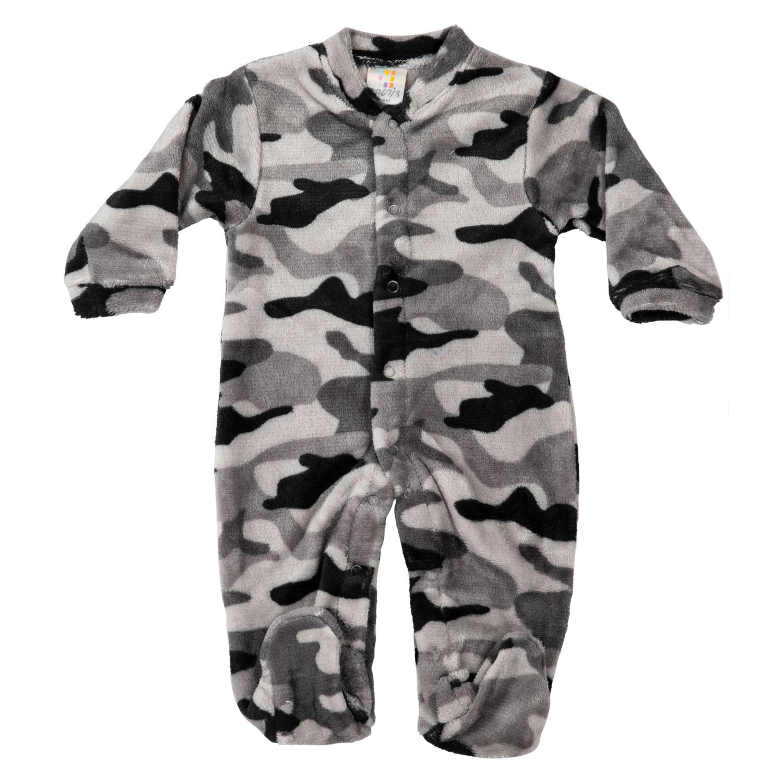 אוברול פרווה צבאי שחור